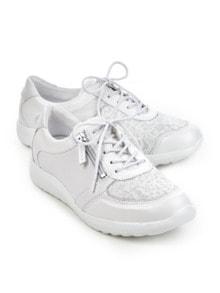 Hallux-Sneaker Schmeichelweite Weiß Detail 1