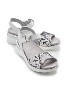Hallux-Sandale Hüftschwung