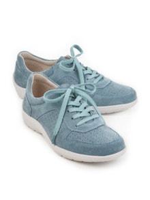 Bequem-Sneaker Rutschsicher Hellblau Detail 1