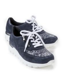 Hallux-Sneaker Extra-Komfort Marine Detail 1