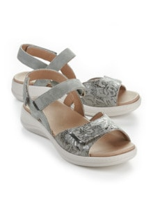Hallux-Sandale Weichtritt Grau Detail 1