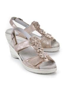 Hallux-Sandale Modernchic Beige metallic Detail 1