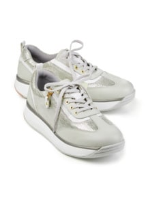 Joya-Sneaker Sensitiv Beige/Gold Detail 1