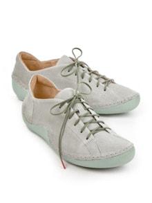 Think-Komfort-Sneaker Hellgrau Detail 1