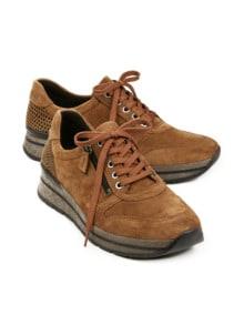 Reißverschluss-Sneaker Fußwarm