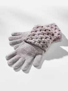 Strick-Handschuhe Thermo