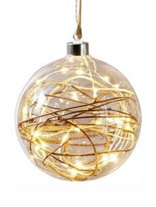 LED-Glaskugel