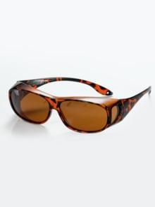 Überzieh-Sonnenbrille Damen