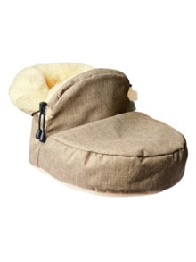 Lammfell-Fußwärmer