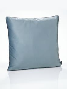 Samt-Kissenhülle Bleu Detail 1