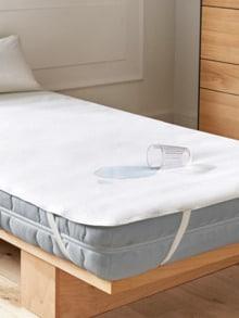 Matratzen-Schutzauflage wasserdicht Weiß Detail 1