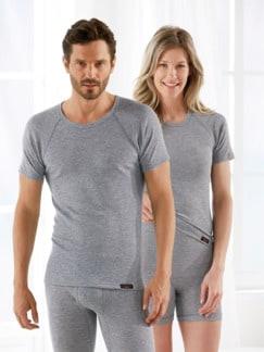 Winterwarm-Unisex-Shirt 1/4 Arm