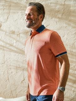 Extrafrisch-Melange-Poloshirt
