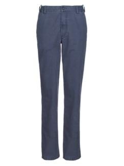 Stretchhose Sommerleicht Jeansblau Detail 3