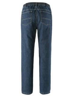 Coolmax-Jeans Dunkelblau Detail 4