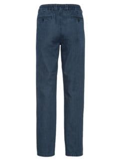 Komfortbund-Jeans High Class Dunkelblau Detail 4