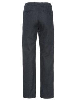 Komfortbund-Jeans High Class Schwarz Detail 4