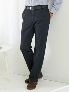 Komfortbund-Jeans High Class Schwarz Detail 1