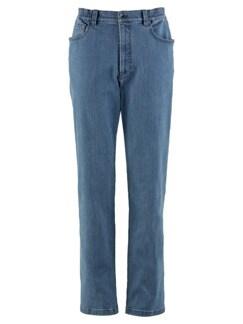 5-Pocket-Jeans Highstretch Mittelblau Detail 3