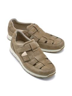 Schrittdämpfer-Sandalenschuh Schlamm Detail 1