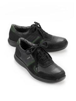 Sympatex-Sneaker Bequemweite Schwarz Detail 1
