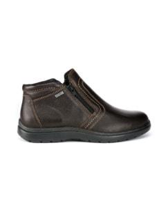 Bequem-Boots wasserabweisend Braun Detail 2