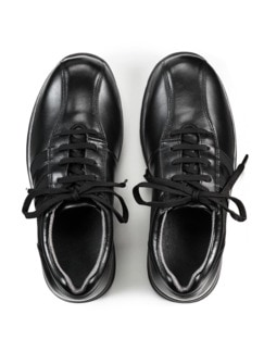 Hallux-Bequem-Sneaker Schwarz Detail 3
