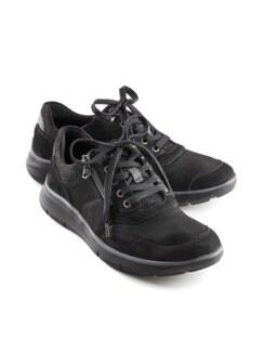 Hallux-Komfort-Sneaker Schwarz Detail 1