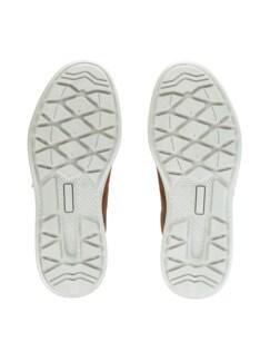 Derby-Sneaker Weitenkomfort Braun Detail 4