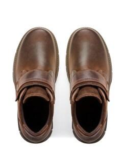 Aquastop-Klett-Boots Braun Detail 4