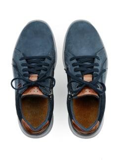 Reißverschluss-Bequem-Sneaker Jeans Detail 4