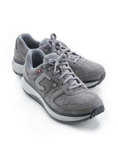 Joya-Sneaker Rückenfreude Grau Detail 1