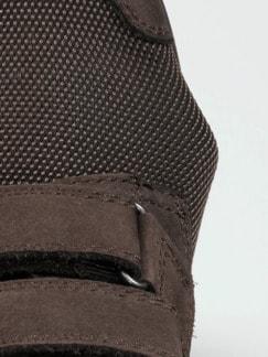 Hallux-Klettschuh Extraweit Braun Detail 3
