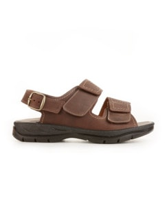 Mehrweiten-Sandale Extrakomfort Braun Detail 2