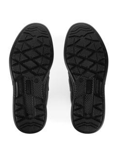 Klett-Sneaker Weitenkomfort Schwarz Detail 4