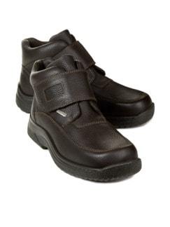 Sympatex-Klett-Boots Braun Detail 1
