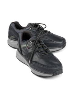 Joya-Sneaker Rückenfit Bequemweite Schwarz Detail 1