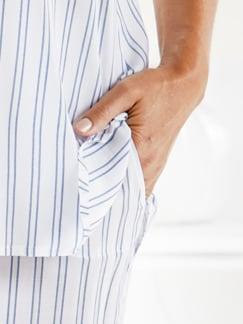 Schlafanzug Sommertraum Weiß Detail 2