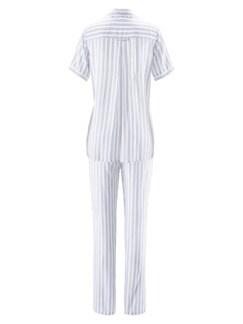 Schlafanzug Sommertraum Weiß Detail 4