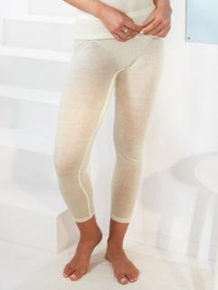 Thermo-Unterhose lang Woll-Mix