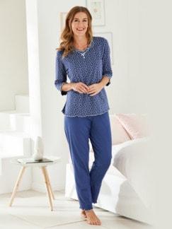 Soft-Schlafanzug Baumwolle
