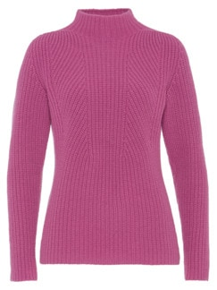 Cashmino-Pullover Magnolie Detail 3