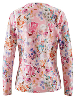 Strickjacke Pastellblume Rosa Detail 3