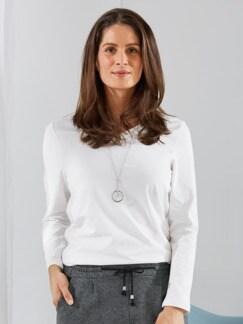 Wohlfühl Thermo-Shirt Wollweiß Detail 1