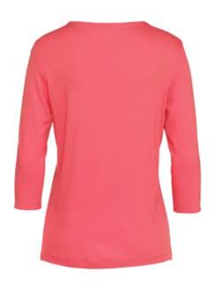 Supersoft-Shirt Lieblingsbasic Koralle Detail 4