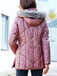 Steppjacke Supersoft Rosa Detail 4
