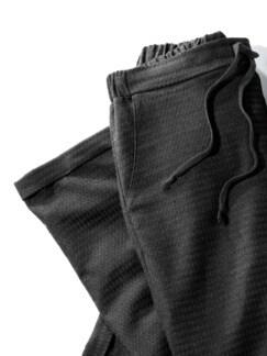 Thermosoft-Hose Joggingstil Schwarz/Grau Detail 3