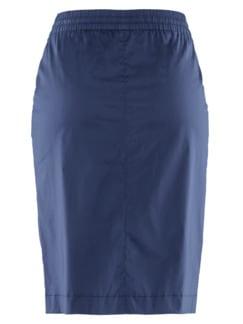Bequem-Schlupfrock Sommerfrisch Jeansblau Detail 4