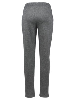 Supersoft-Jersey-Hose Joggingstil Grau meliert Detail 4