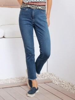 7/8-Supersoft-Jeans Mittelblau Detail 1